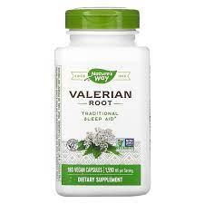 Nature's Way, Valerian Root, 1,590 mg, 180 Vegan Capsules - iHerb
