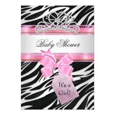 Purple And Pink Zebra Girl Baby Shower Invitation U2026  Pinteresu2026Pink Zebra Baby Shower Invitations
