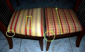 fresh fabric to recover dining room chairs