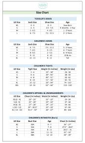 Youth Sock Size Chart Size Chart Trimfit