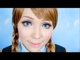 disney s frozen a makeup tutorial