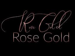 Rose Gold Font Effects Easy Text Effect In Powerpoint