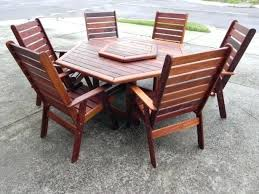 patio table for 6 hexagon patio table with teak patio furniture and 6 person chairs medium patio table for 6