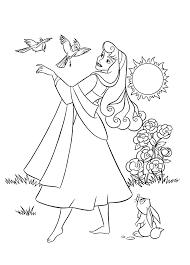 Coloriage La Belle Au Bois Dormant Aurore Coloriages Pour Enfants