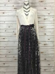 Deanne Skirt Size Chart Details About Xxs Lularoe Elegant Deanne Wrap Dress Pleated Skirt Cream Purple Silver Foil