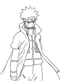 Cool Naruto Coloring Pages