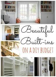 beautiful built ins on a diy budget remodelaholic com built ins diy budget