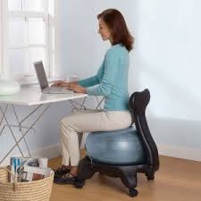 Ergonomic ball office chairs Orthopedic Sitting Ergonomically Balance Ball Puts The Focus On Posture Racingdesantanderinfo Fitseats Get Fit While You Sit