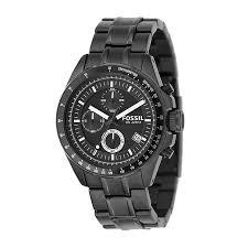 fossil decker men s black ion plated bracelet watch h samuel fossil decker men s black ion plated bracelet watch product number 8509735
