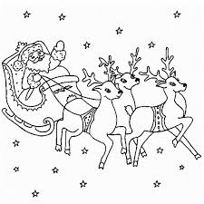 Small Picture Reindeer coloring pages with santa ColoringStar