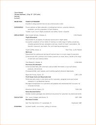 Job Resume Examples No Experience | Krida.info