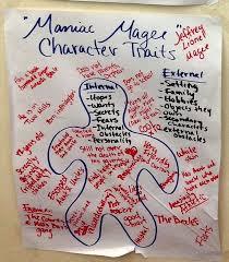 cele mai bune de idei despre maniac magee pe 6th grade character chart maniac magee