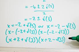factor second degree polynomials quadratic equations