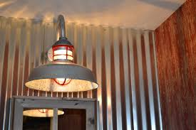 galvanized barn light fixtures