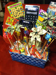 gift basket ideas for raffle beautiful scratch off lottery ticket basket for silent auction of inspirational