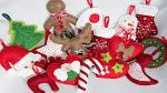 Новогодние игрушки из фетра своими руками мастер класс