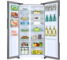 haier fridge. haier hrf-522ig6 american-style fridge freezer - silver haier i