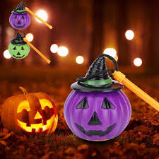 Voice Control <b>Halloween Portable Pumpkin Shape</b> Light Lamp ...