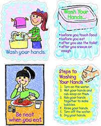 Chart On Healthy Habits Amazon Com Barker Creek Healthy Habits Bulletin Board