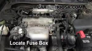 interior fuse box location 1997 2001 toyota camry 2000 toyota replace a fuse 1997 2001 toyota camry