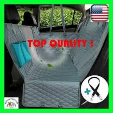 dog car seat cover view mesh waterproof
