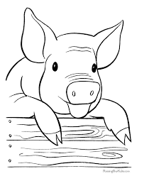 Small Picture Ideas Collection Pig Coloring Pages To Print Also Summary