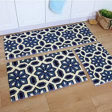 ustide 3 piece bohemia washable bathroom rug kitchen rug set kitchen pertaining to kitchen rug sets
