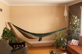 While they are typically used for camping trips or relaxing in the  backyard, indoor hammocks for your home are now becoming increasingly  popular.