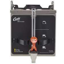 Airpot, satellite, and single serve machines. Curtis Gem 3d 1 1 2 Gal Coffee Satellite Dispenser W Decaf Faucet