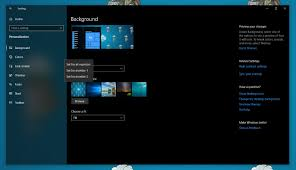 multiple monitors in the settings app