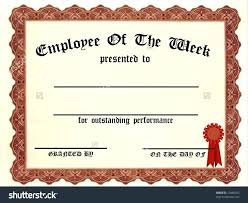 Printable Employee Of The Month Certificates School Certificate Template Star Of The Week 2 Image Free