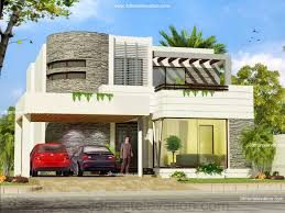D Front Elevationcom Exterior  Interior  Kanal Banglow - House plans with photos of interior and exterior