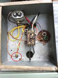 replacing a ge 3 wire condenser fan a 4 wire universal attached images