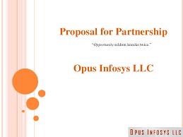 Partnership Proposal Samples Partnership Proposal