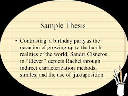 thesis statements advanced placement literature basic parts topic  6 sample