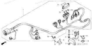 wiring diagram image result for honda aquatrax parts partzilla