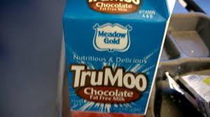 trumoo chocolate fat free milk food review