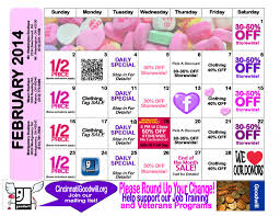 Sales Calendars Test Page Ohio Valley Goodwill Industries