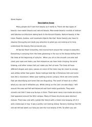 descriptive essay examples about an object object description  object description essay gxart orgdescriptive christmas essays descriptive essay examples descriptive essay about an object