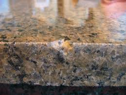 chipped granite