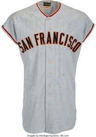 1963 Felipe Alou Game Worn San Francisco Giants Jersey. ... | Lot #56439 |  Heritage Auctions
