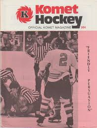 Hockey Programs Fort Wayne Komets 1973 74 Ihl