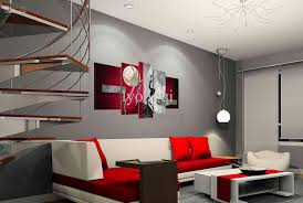 great best quality hand painted hi q modern wall art home decorative with red  wall decoration
