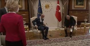 Sofa-Gate: Kein Sessel für Von der Leyen in Ankara