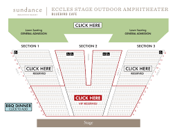 Alpine Valley Seating Chart Bluebird Cafe Concert Series Sundance Mountain Resort