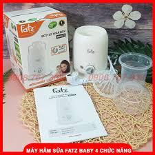 BAO BÌ MỚI) Máy Hâm Sữa, Thức Ăn Và Tiệt Trùng Fatz Baby 4 Chức Năng - BH  12 Tháng