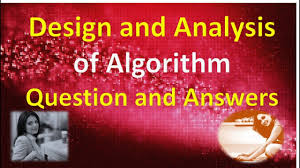 Design And Analysis Of Algorithms Mcq With Answers Design And Analysis Of Algorithm Question And Answers Part 3