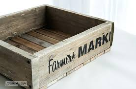 pallet crate furniture. Delighful Crate How To Build A Reclaimed Wood Junk Interiors Farmers Market Stencil On  Crate  Pallet  Throughout Pallet Crate Furniture 1