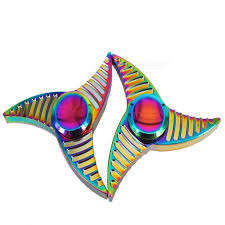 OJADE Colorful Hand <b>Spinner</b> Fidget Relief <b>Fingertip</b> Gyro Toys (2 ...