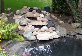 diy waterfall for garden pond best waterfall 2017